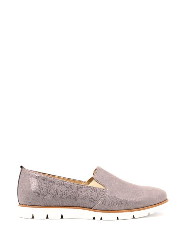Zapato Leder-Slipper in Grau - 65% | Größe 39 |...