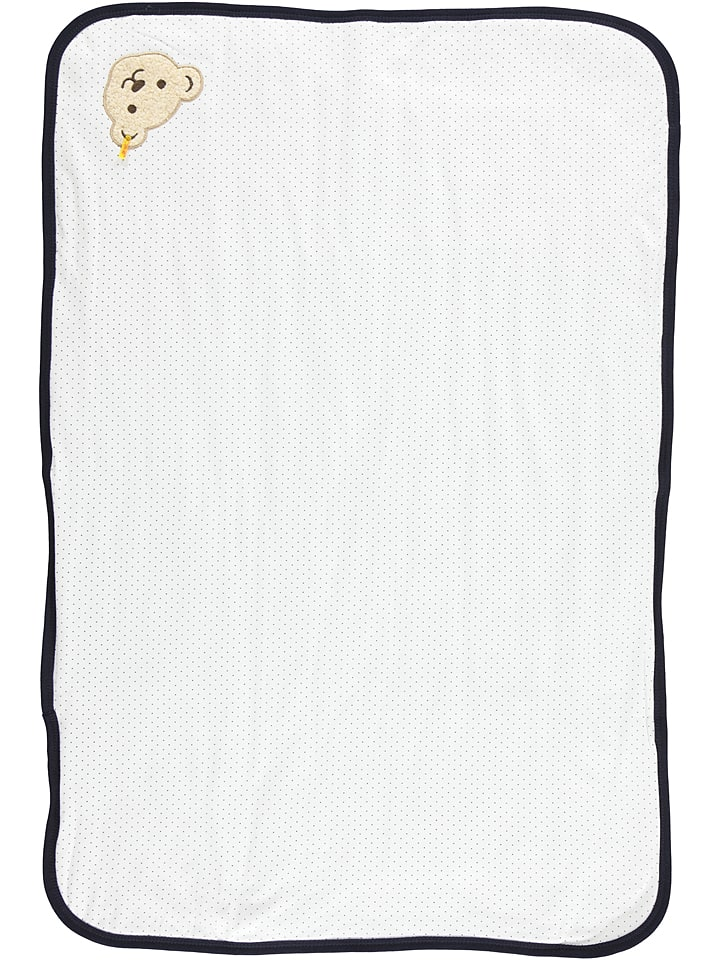 Steiff Decke in Weiß - (L)95 x (B)65 cm - 39% |...