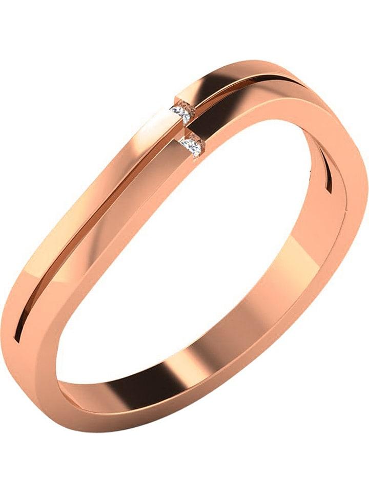 Art of Diamond Roségold-Ring mit Diamanten - 69...