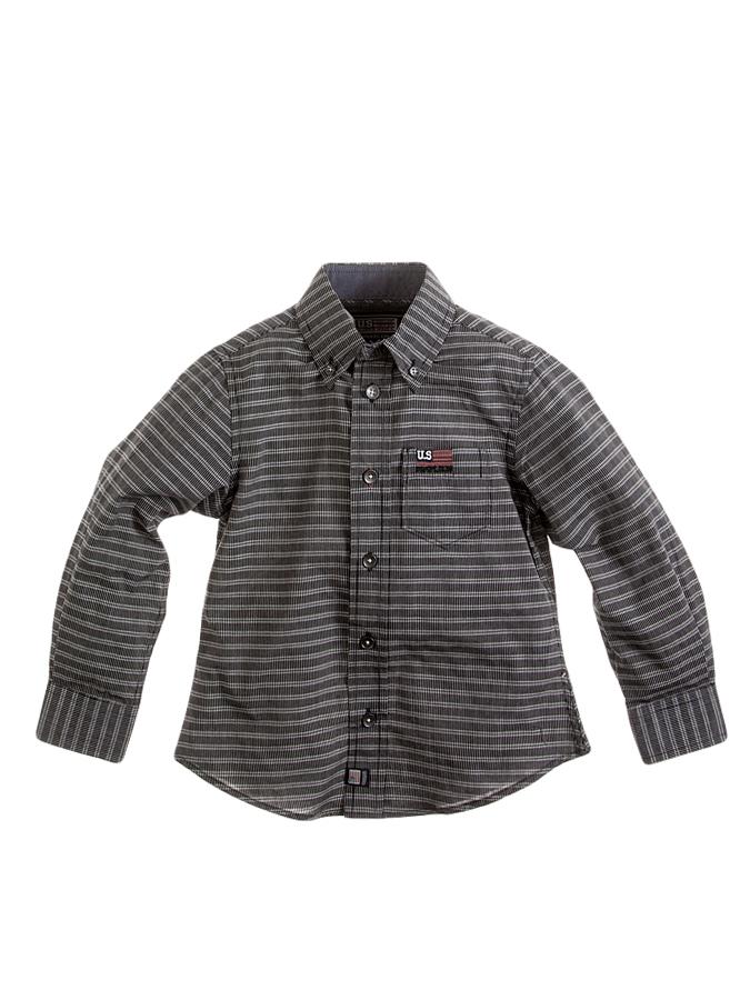 Complices Hemd in Schwarz/ Weiß -78% | Größe 110 | Hemden