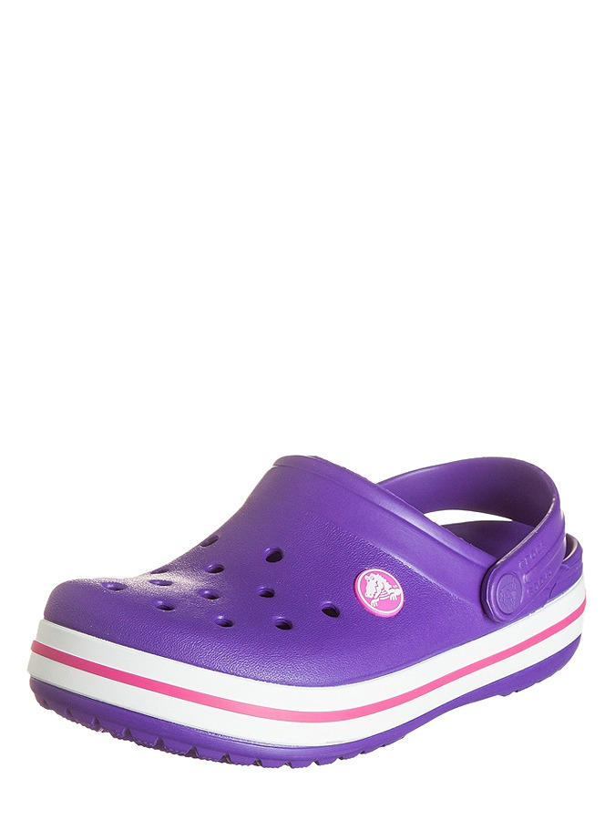 "Crocs Clogs ""Crocband"" in lila"