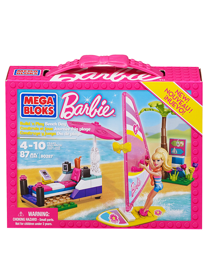 "Mega Bloks Barbie-Spielset ""Beach Day"" - ab 4 Jahren -33% 