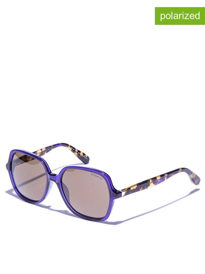 Polaroid Damen-Sonnenbrille in lila -79 Größe 56 Sonnenbrillen