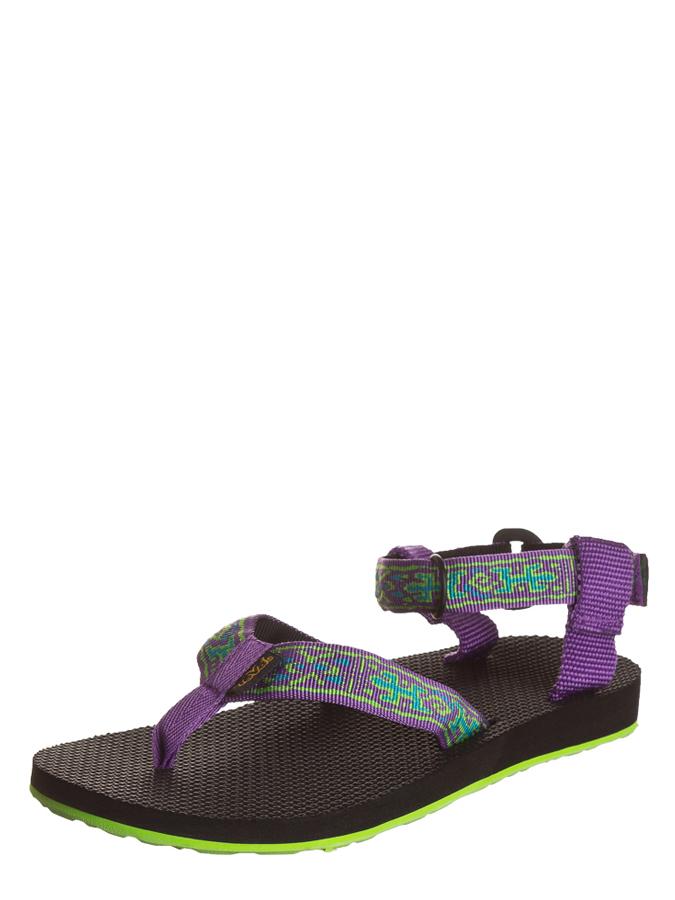 Teva Zehentrenner in Dunkelbraun - 59%   Größe 40 Damen sandalen jetztbilligerkaufen