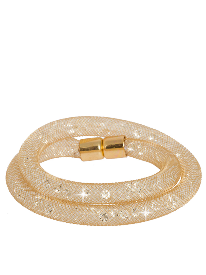 Destellos Armband mit Glaskristallen in gold -6...