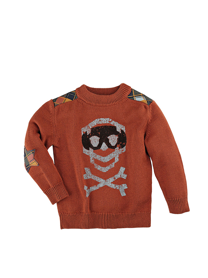 Vicious Wear Strickpullover ´´rot Knit´´ in Hel...