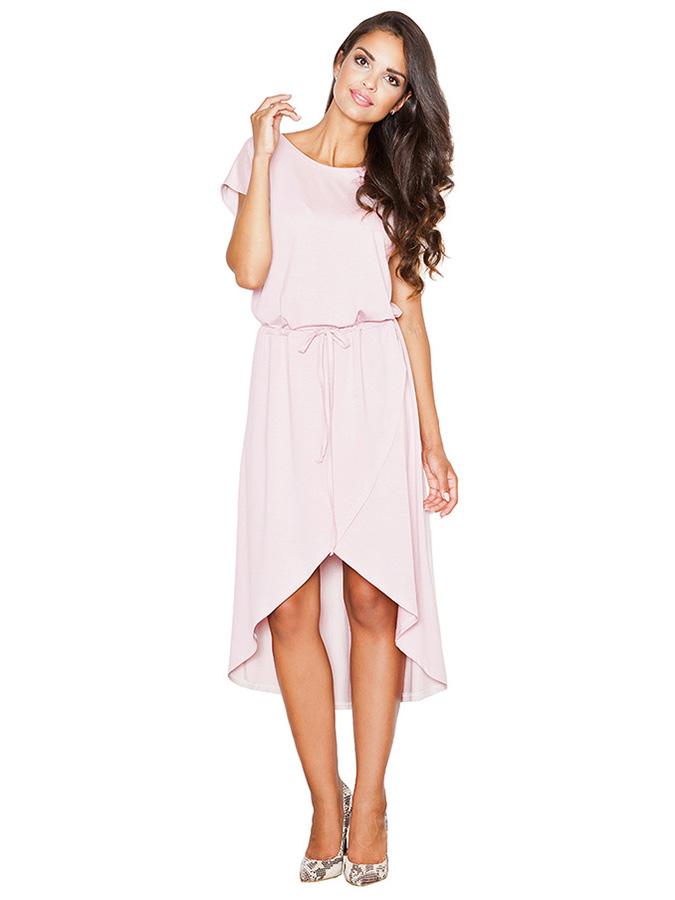 Figl Lange Kleider in rosa - 49% | Größe S Damen kleider - broschei
