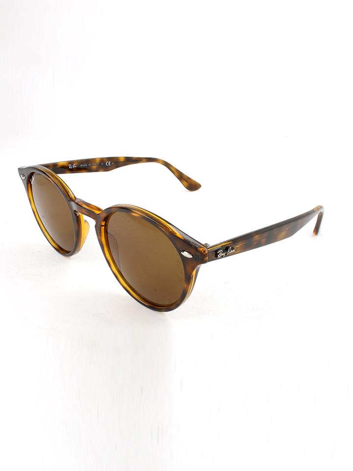 Ray Ban Damen-Sonnenbrille ´´Loop´´ in Havana Braun -45 Größe 49 Sonnenbrillen
