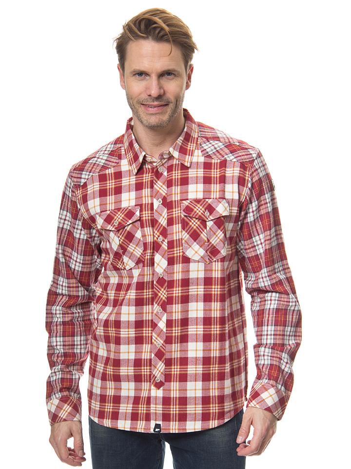 Icepeak Hemd ´´Jacob´´ in rot -65%   Größe XL Hemden