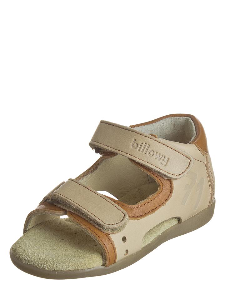 Billowy Leder-Sandalen in beige -70% | Größe 22 Sandalen