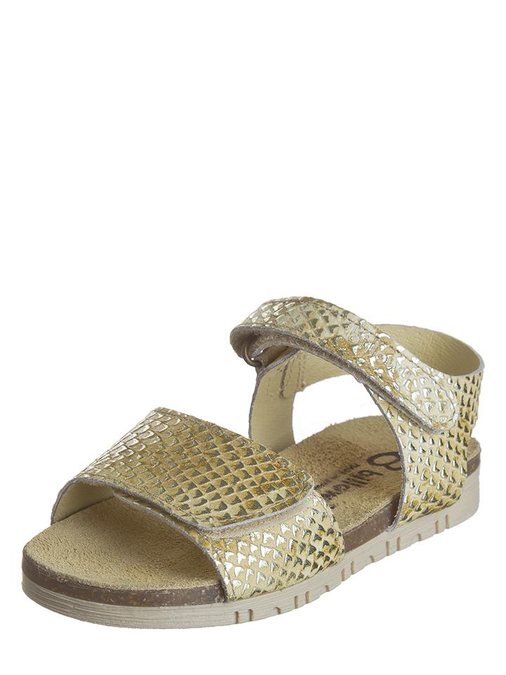 Billowy Leder-Sandalen in beige -67% | Größe 35 Sandalen