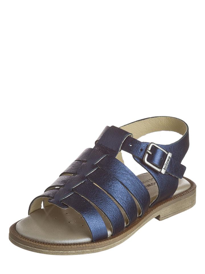 Billowy Leder-Sandalen in Dunkelblau - 69% | Größe 32 Kindersandalen jetztbilligerkaufen