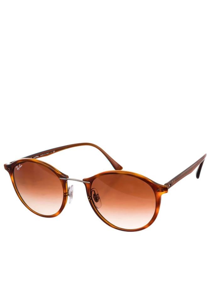 Ray Ban Damen-Sonnenbrille ´´Light´´ in Havana Braun -39 Größe 49 Sonnenbrillen