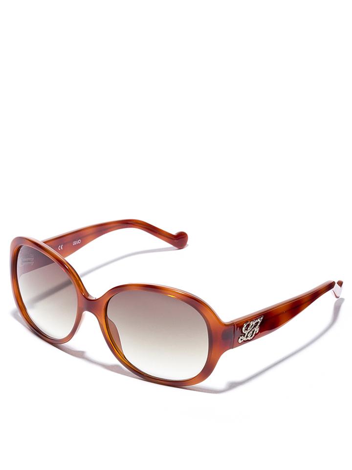 Liu Jo Damen-Sonnenbrille in Hellbraun -51 Größe 59 Sonnenbrillen