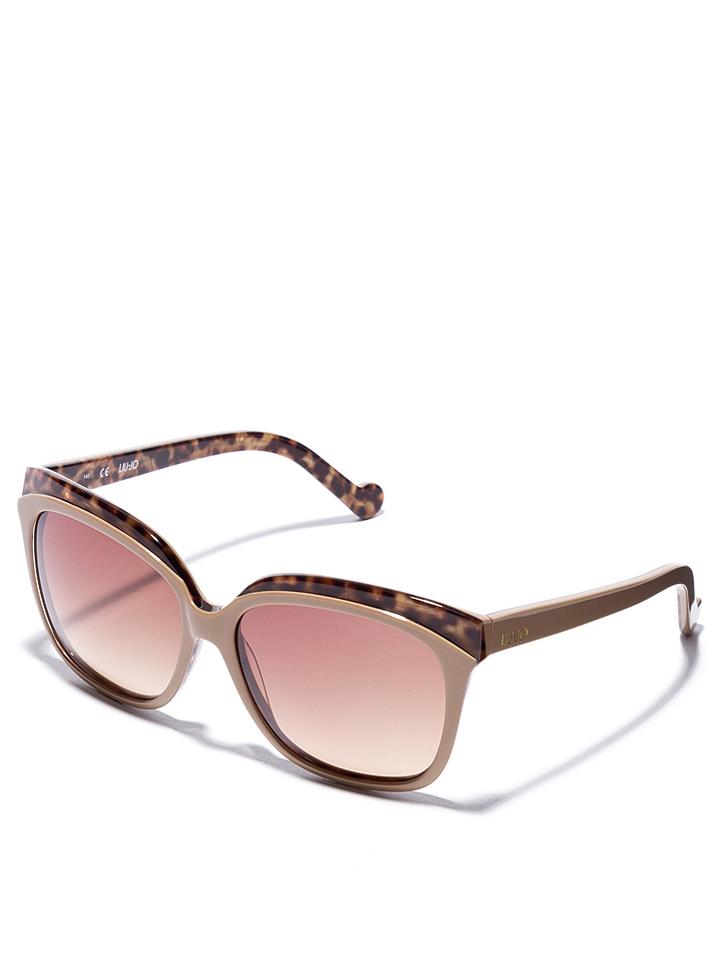 Liu Jo Damen Sonnenbrillen in Taupe -49 Größe 59 Sonnenbrillen