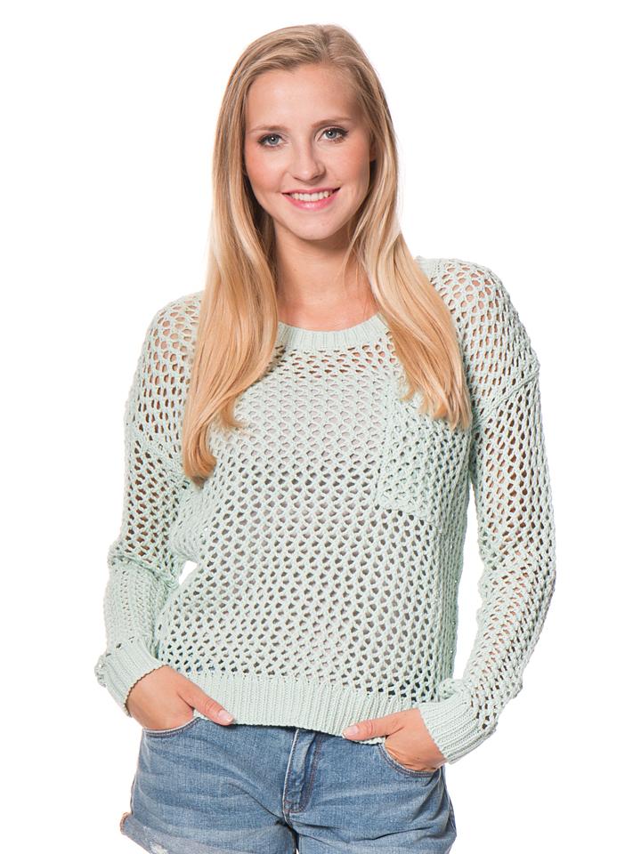 Roxy Strickpullover ´´Turnabout´´ in Mint - 59% | Größe L Damen pullover