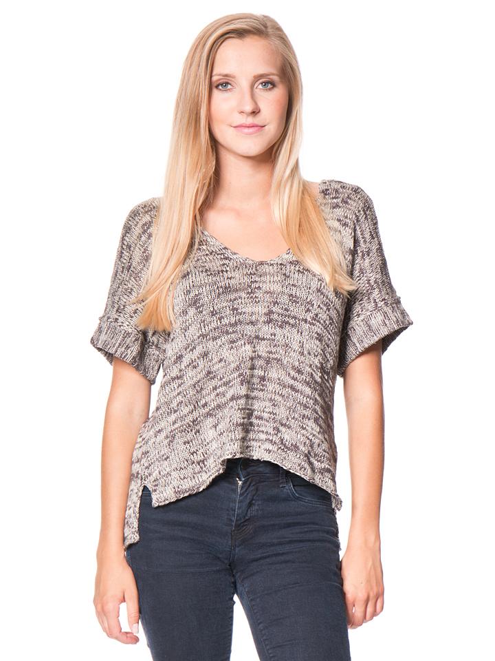 Roxy Top ´´Lovely´´ in Grau - 62% | Größe L Damen pullover