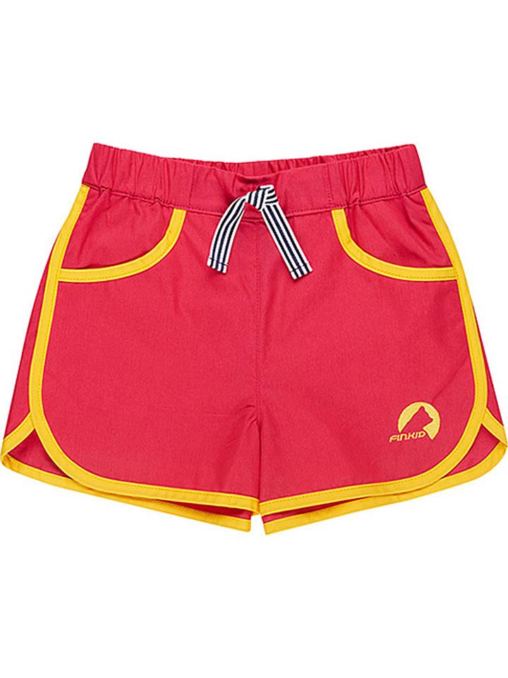 Finkid Shorts ´´Hiekka´´ in Rot - 39% | Größe 110/120 Kinderhosen