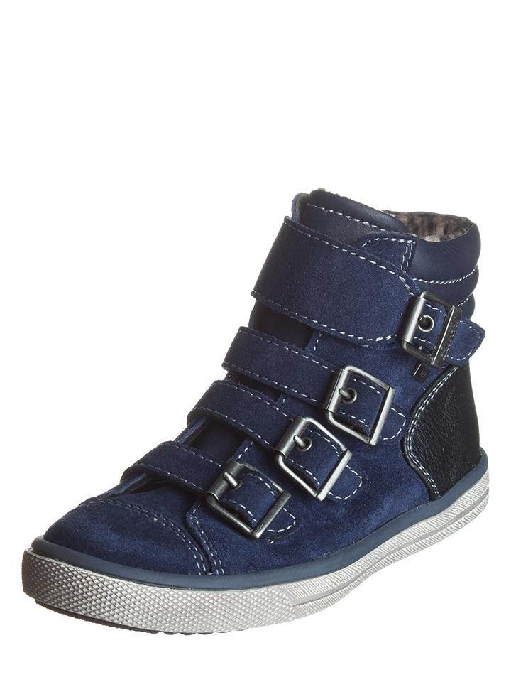 Lurchi Leder-Sneakers in Dunkelblau -53% | Größe 31 Sneaker High Sale Angebote Hermsdorf