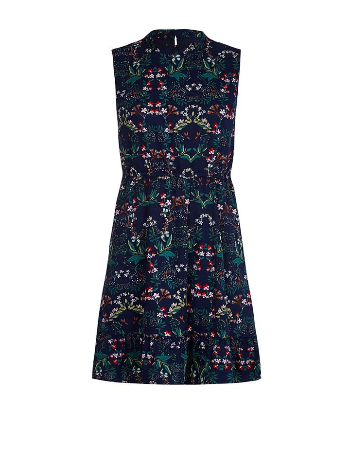 Iska Kleid in dunkelblau -61% | Größe 40 Kurze Kleider Sale Angebote Guhrow