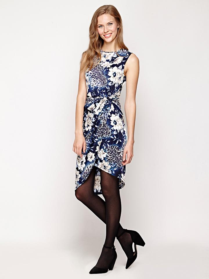 Iska Kleid in dunkelblau -70% | Größe 42 Kleider Sale Angebote Gastrose-Kerkwitz