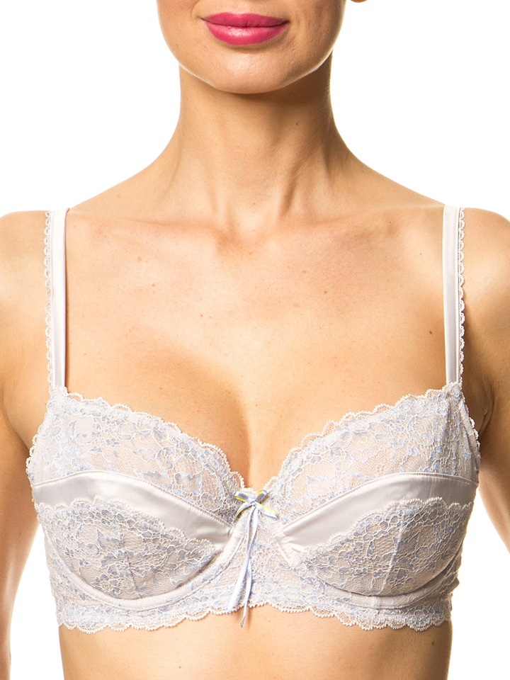 Heidi Klum Intimates Bügel-BH ´´Liberty Shine´´ in grau -69%   Größe 85E BHs