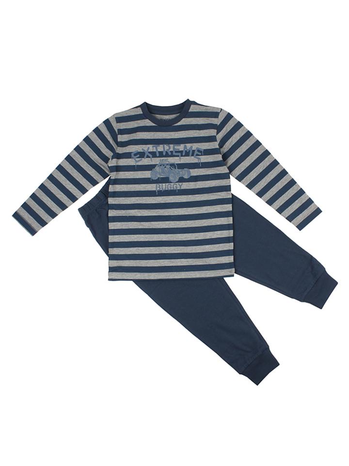 Fixoni Pyjama in dunkelblau -47 Größe 116 Pyjamas