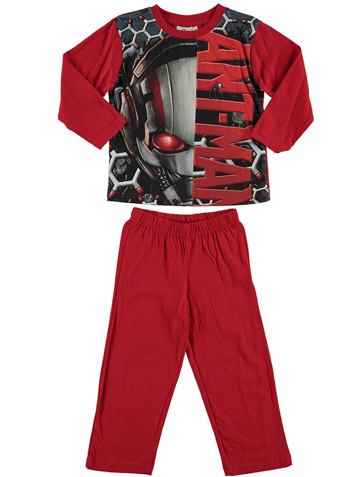 Ant-Man Pyjama ´´Ant Man´´ in rot -67 Größe 104 Pyjamas