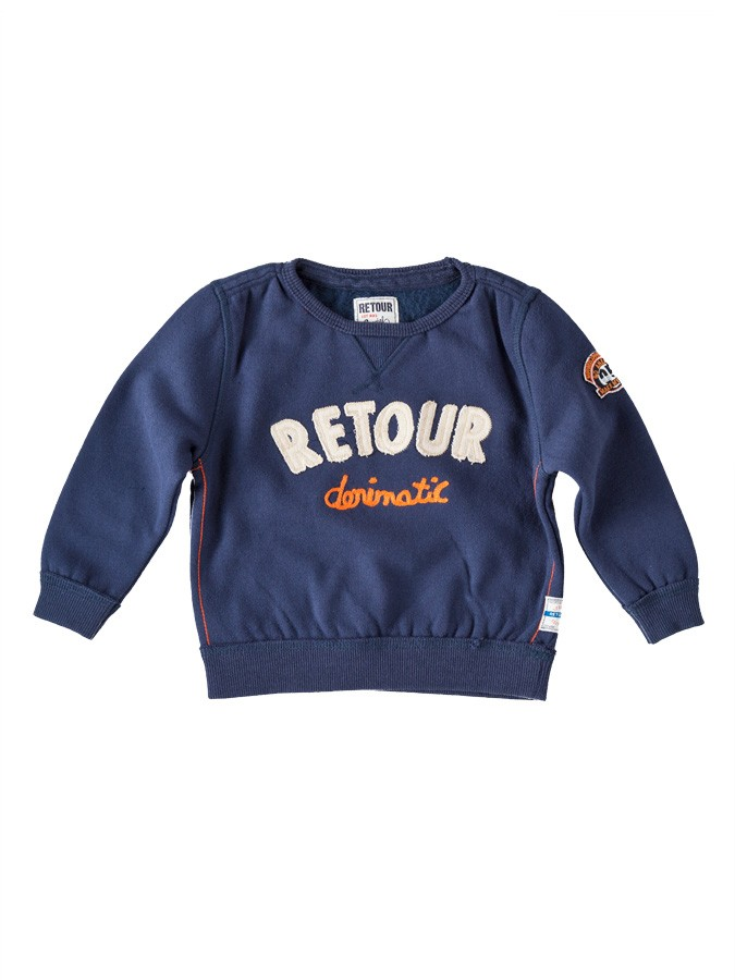 Retour Sweatshirt in Dunkelblau -63% | Größe 74...