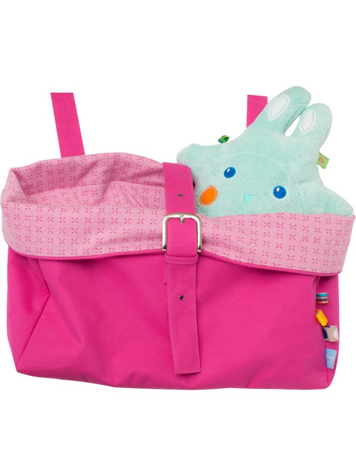 Snoozebaby Spielzeugkorb in pink - (B)50 x (H)40 (T)20 cm -36%   Babyartikel Sale Angebote Wiesengrund