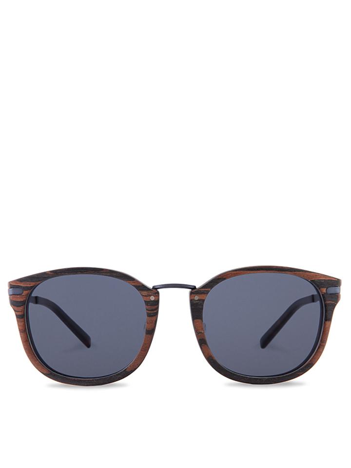 Kerbholz Unisex-Sonnenbrille ´´Herrmann´´ in Braun - 64% | Damen sonnenbrillen - broschei