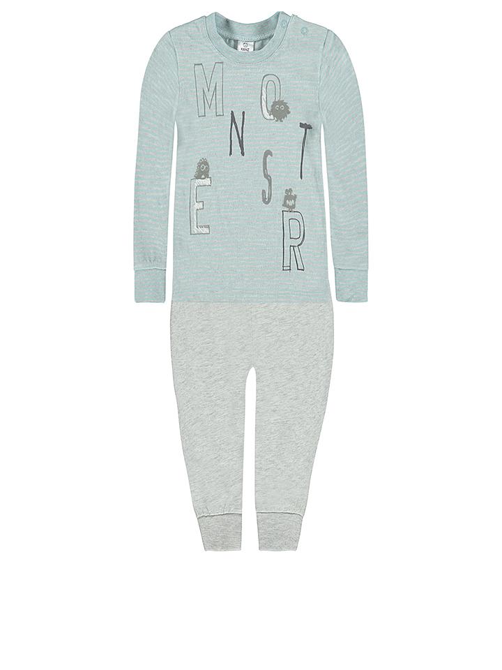 Kanz Pyjama in Blaugrün - 68 Größe 68 Baby waesche