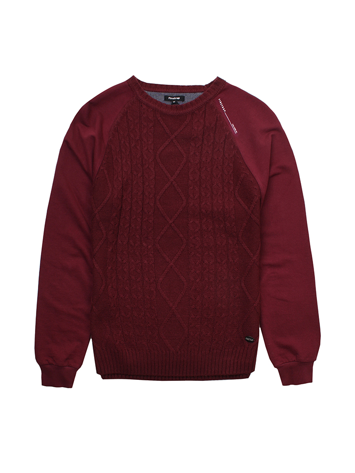 Firetrap Pullover ´´Brompton´´ in Rot -34% | Gr...