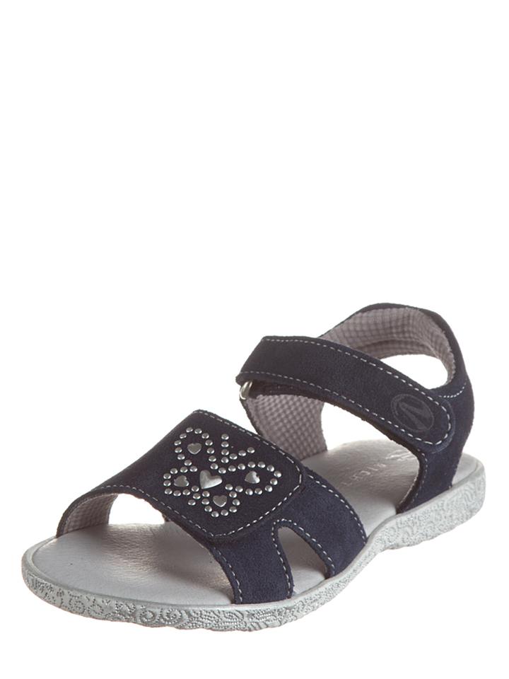 Richter Shoes Leder-Sandalen in Dunkelblau -47%   Größe 26 Sandalen Sale Angebote Schipkau