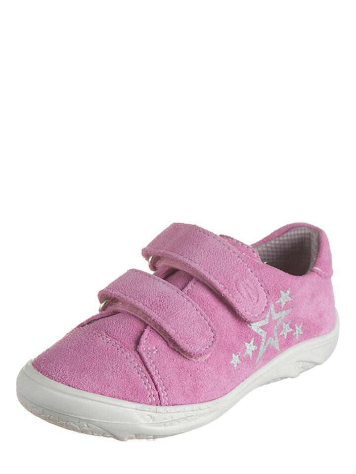 Richter Shoes Leder-Sneakers in Rosa - 51% | Größe 35 Kindersneakers