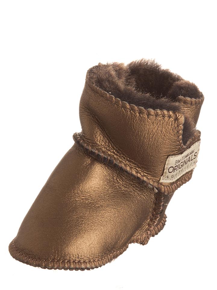 BMO AUSTRALIA Schaffell-Boots ´´Baby Boot Velcr...