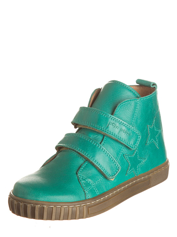 POM Leder-Sneakers in Grün - 53%   Größe 26 Kindersneakers