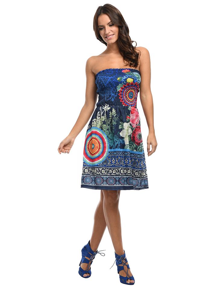 101 idées Kleid ´´Agathe´´ in Blau - 62% | Größe 40/42 Damen kleider