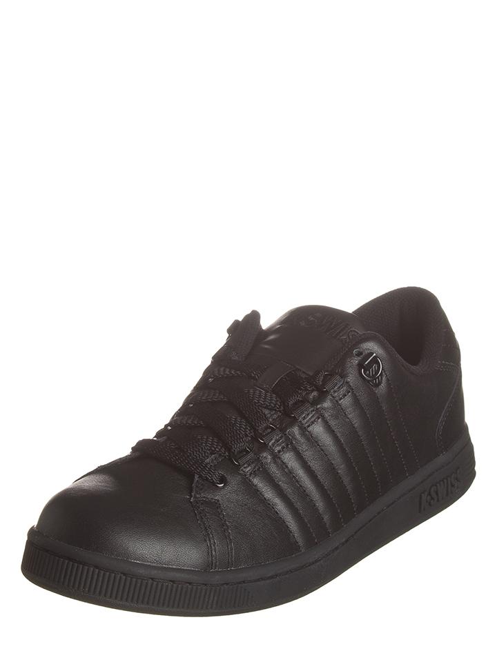 K-SWISS Leder-Sneakers ´´Lozan III´´ in Schwarz -62% | Größe 42,5 Sneaker Low Sale Angebote Frauendorf