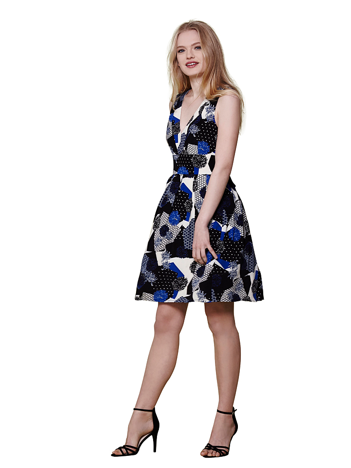 Yumi Kleid in dunkelblau -67% | Größe 42 Kurze Kleider Sale Angebote Bagenz