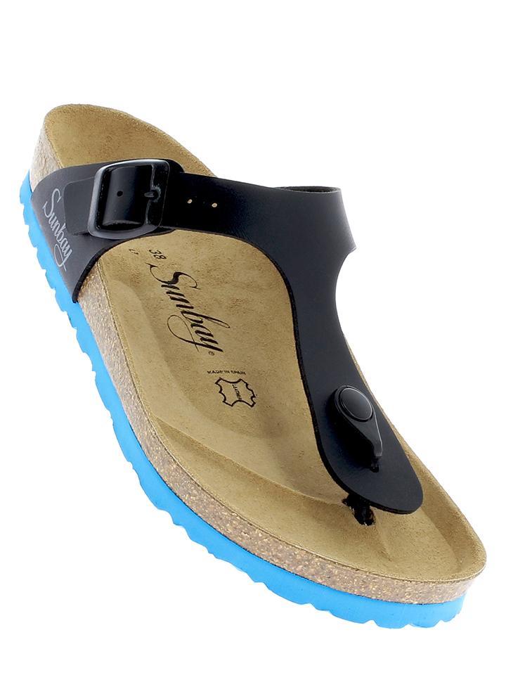 Neiße-Malxetal Angebote Sunbay Zehentrenner in Schwarz - 74% | Größe 40 Damen sandalen