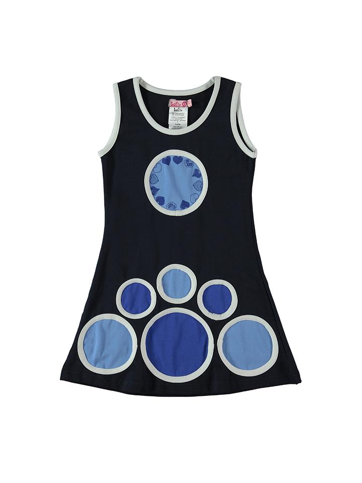 Lofff Kleid in blau -53% | Größe 92 Kleider Sale Angebote Frauendorf