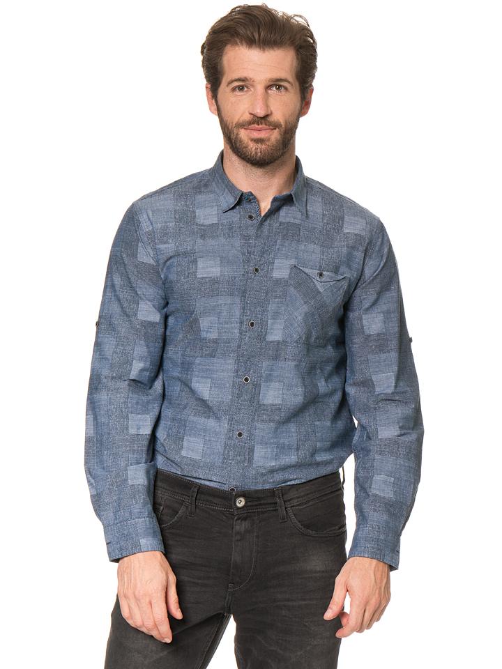 Tom Tailor Hemd in Blau -49% | Größe XXL Hemden Sale Angebote Wiesengrund