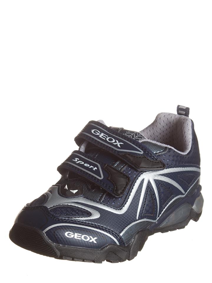 Geox Sneakers ´´Light Eclipse 2´´ in dunkelblau -34% | Größe 35 Sneaker Low Sale Angebote Cottbus