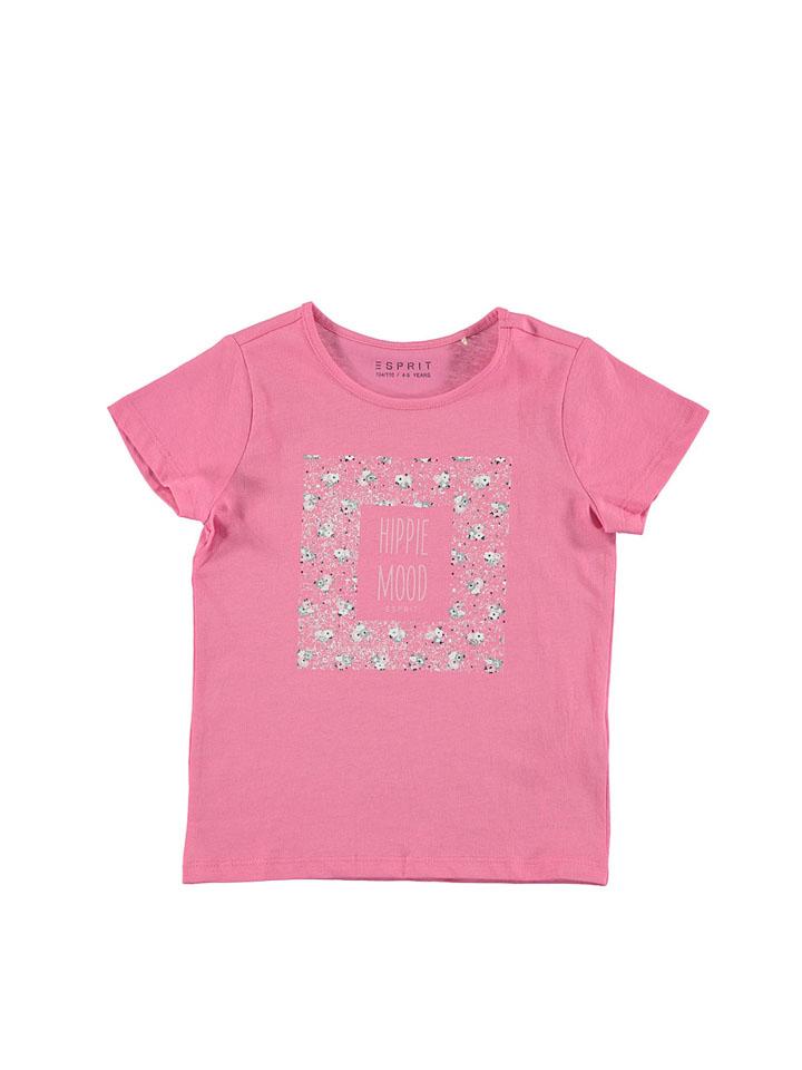 ESPRIT Shirt in Pink - 33% | Größe 116/122 Kinder oberteile