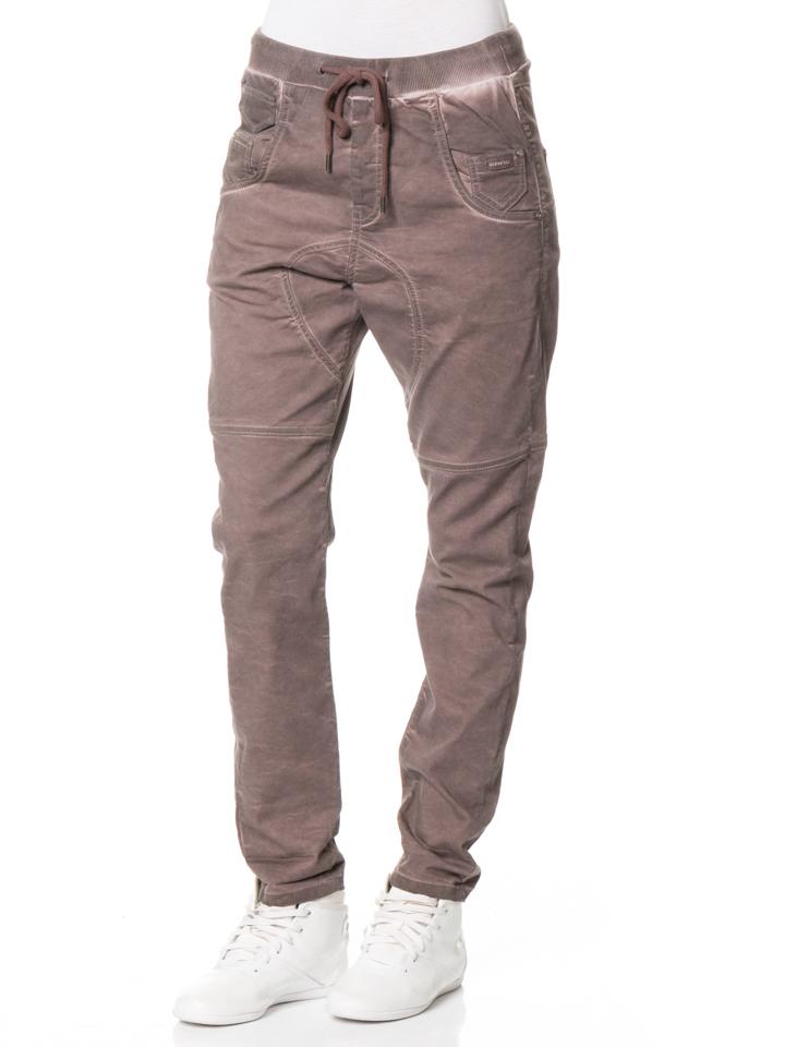 Gang Hose ´´Tammy´´ - Deep Crotch in Braun -57% | Größe W32 Stoffhosen Sale Angebote Lieskau