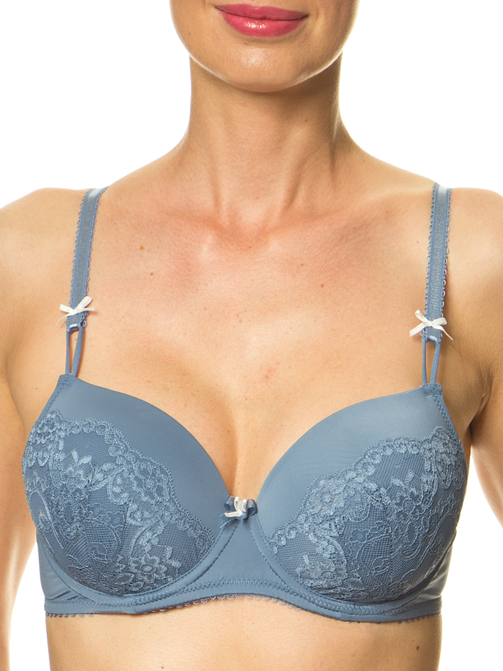 LASCANA Schalen-BH in Blau - 45% | Größe 75D | ...