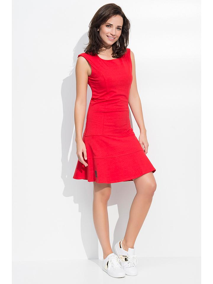 Numinou Kleid in Rot -65% | Größe 38 Kurze Kleider Sale Angebote Horka