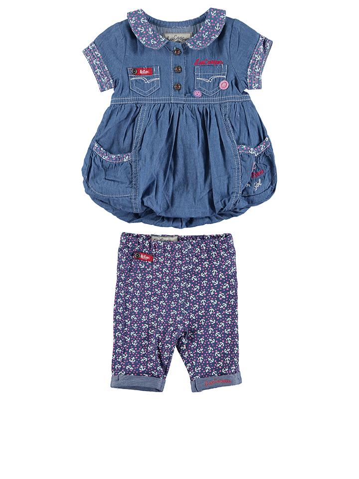 Lee Cooper 2tlg. Outfit in Blau - 65% | Größe 68 Babykleider