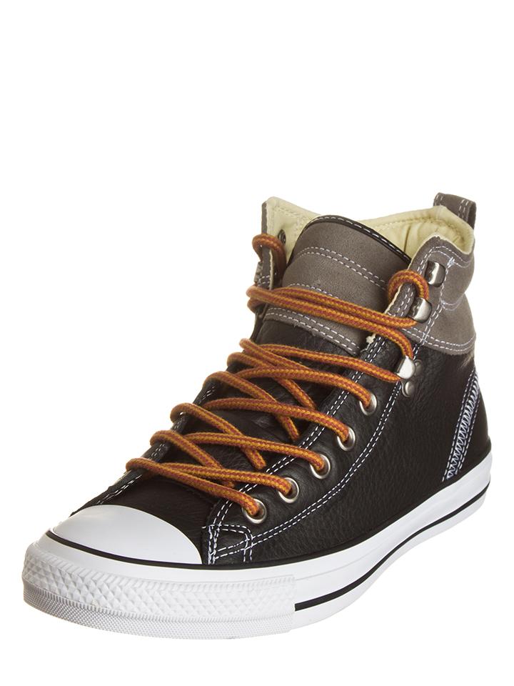Converse Leder-Sneakers ´´CT Hiker´´ in Schwarz -43% | Größe 39,5 Sneaker High Sale Angebote Frauendorf